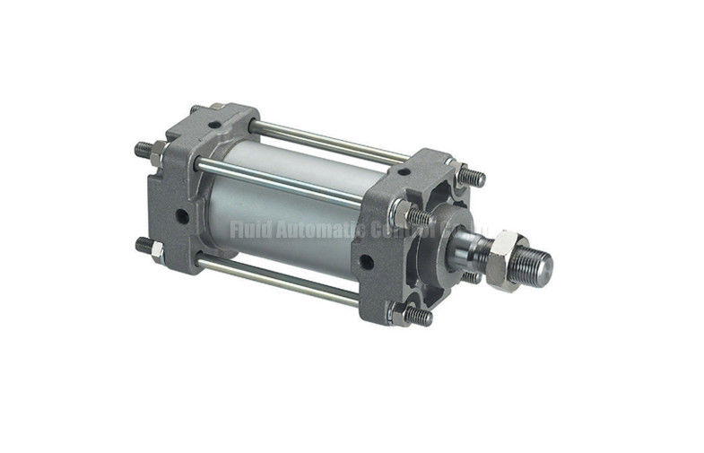 CA1 Double Acting Pneumatic Air Cylinder 40mm - 100mm , Tie Rod Gas Cylinder