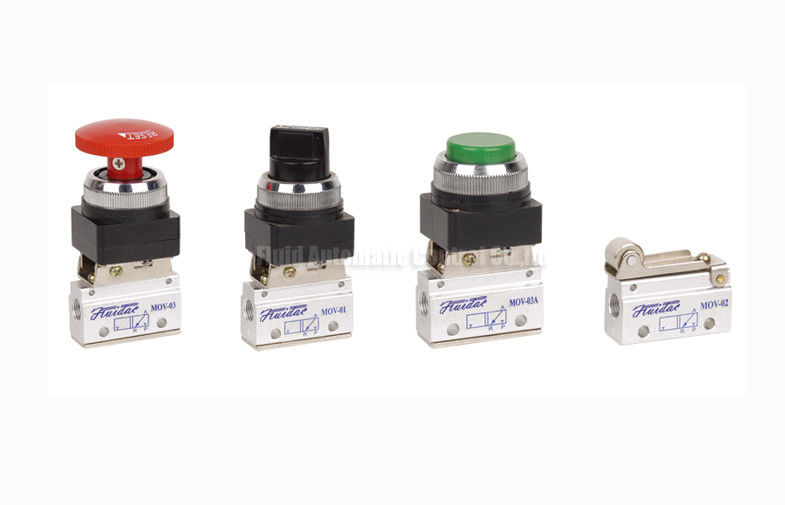 MOV Series Two Position Three Way Pneumatic Mechanical Valve G1/8""