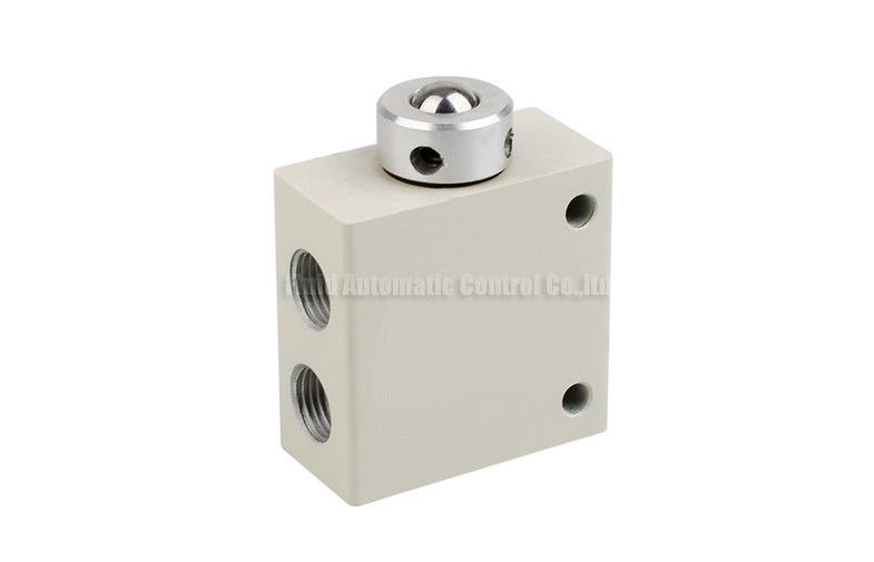 Miniature 3-Way steel ball actuated mechanical Control Valve