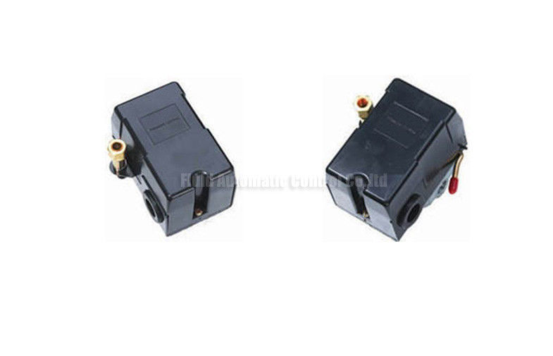"25psi - 175psi Air Pressure Switches With Port Size 1/4"" , Air Compressor Switch"