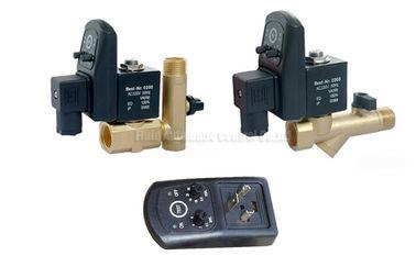 égouttoir automatique de minuterie de laiton de 16bar 5mm avec le filtre de tamis et la valve de drainage